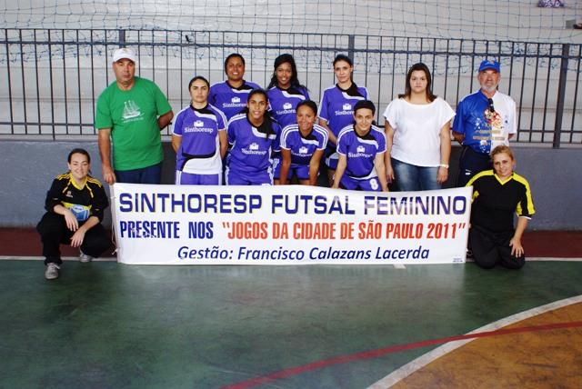 Futebol Feminino do SINTHORESP