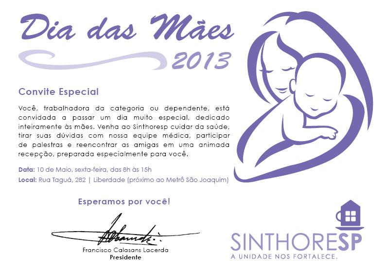 Evento - Dia das Mães