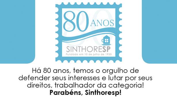 Sinthoresp 80 Anos
