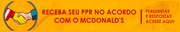 ACORDO MC DONALDS