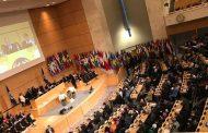 Sinthoresp participa de momento histórico na OIT