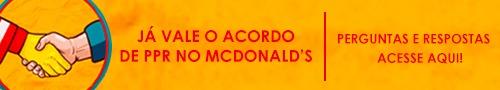 ACORDO MC DONALDS