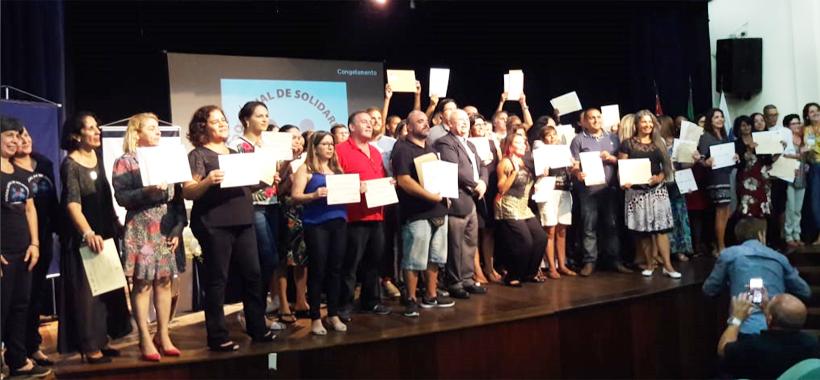 Curso do Sinthoresp em Caraguá forma dezenas de novos alunos