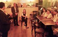 Sinthoresp faz ação sindical no restaurante Paris 6