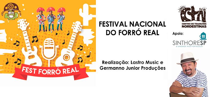 Final do Festival Nacional de Forró será domingo no CTN
