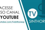 Assista ao Programa do Sinthoresp no YouTube
