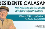 Sinthoresp participa neste sábado (19) de programa na Rádio Capital