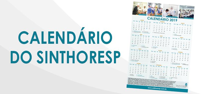 Diretores distribuem calendário de 2019 aos trabalhadores da base