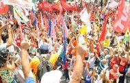 Centrais fazem protesto contra reforma da Previdência