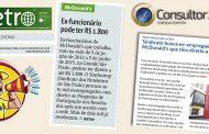 Conjur e Metro repercutemacordo de PPR com McDonald's
