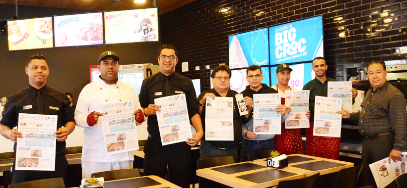 Regional de Osasco reforça ação na base e orienta trabalhadores