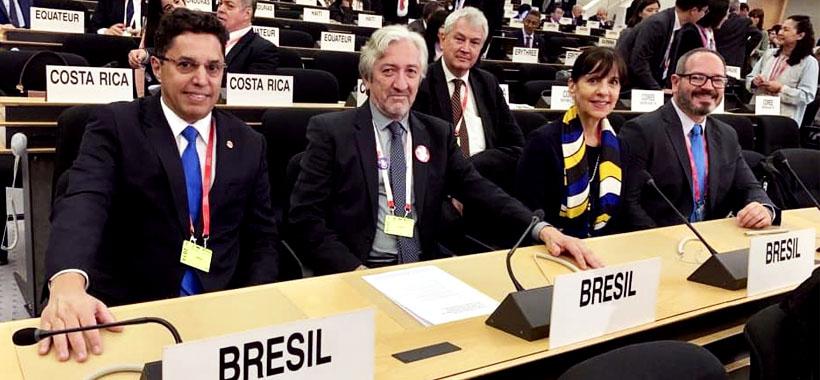 Diretor Rubens representa Centrais na abertura da 108ª Conferência da OIT