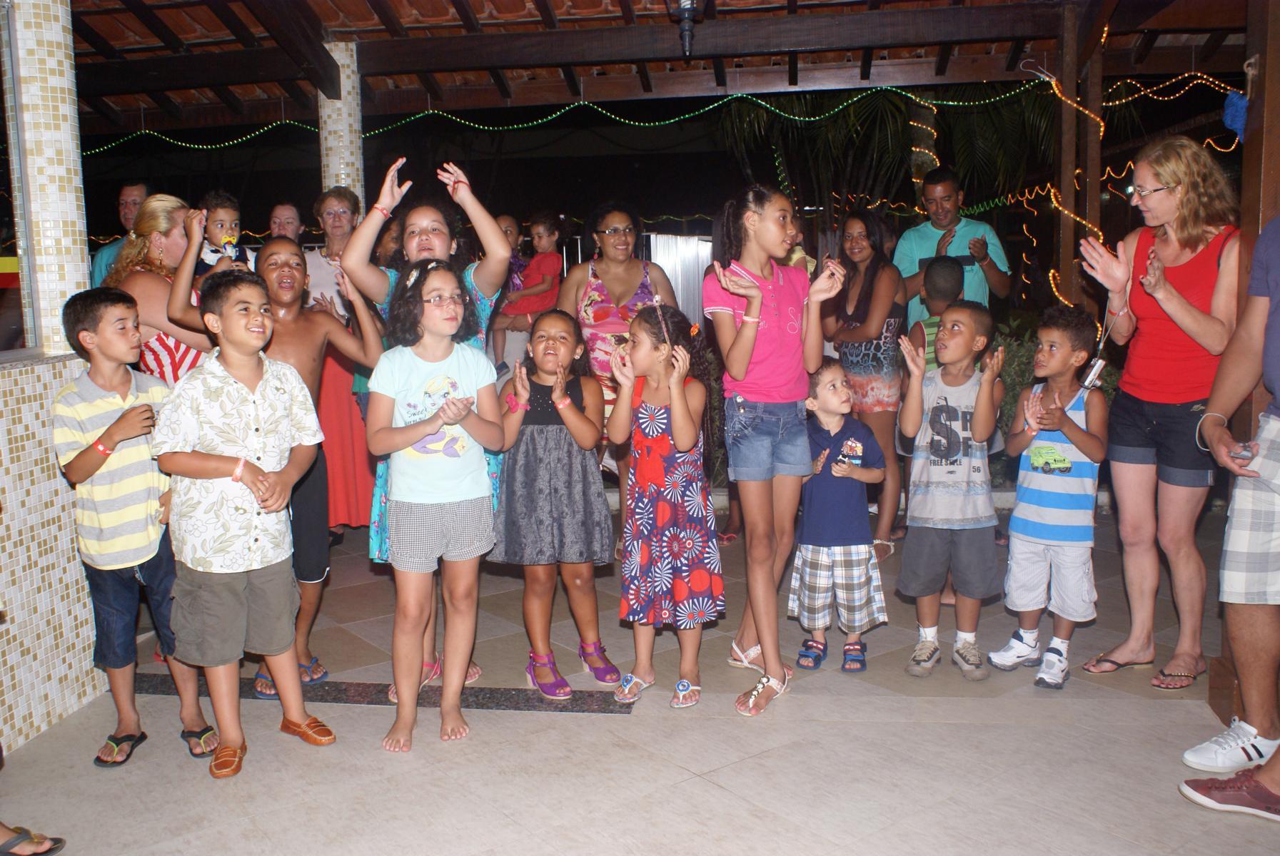 Colônias de Férias reúnem cerca de 900 pessoas nas comemorações de Natal e Ano Novo