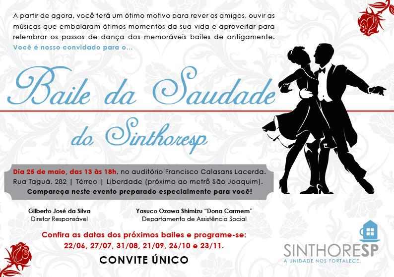 Baile da Saudade - Sinthoresp