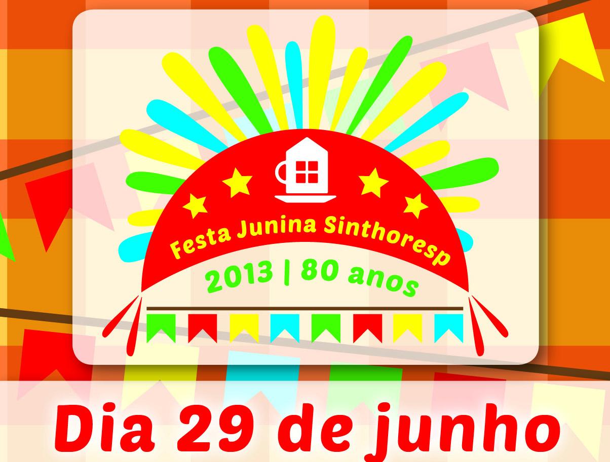 Festa Junina Sinthoresp 2013
