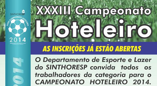 XXXIII Campeonato Hoteleiro