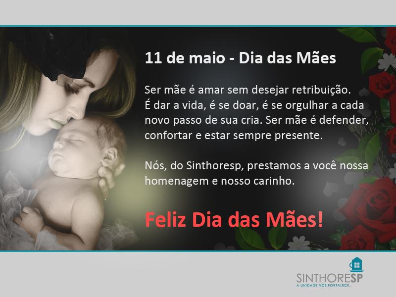 11 de maio - Dia das Mães