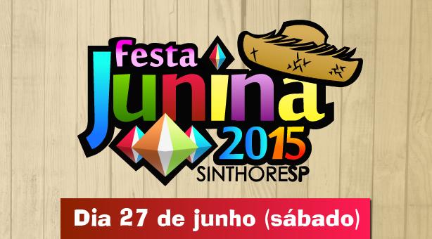 FESTA JUNINA SINTHORESP 2015
