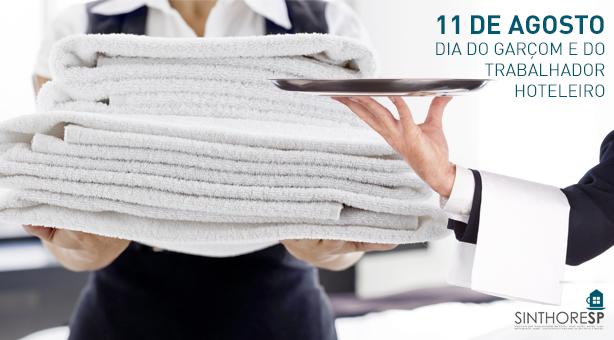 11 de agosto: Dia do Garçom e do Trabalhador Hoteleiro