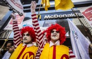 McDonald's staff lovin' the fight for rights