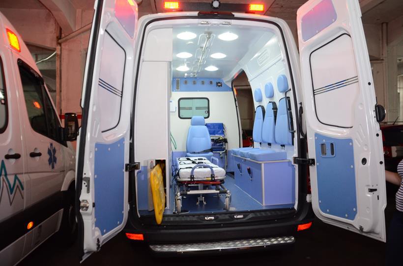 BOA NOTÍCIA! Departamento Médico agora tem duas novas ambulâncias