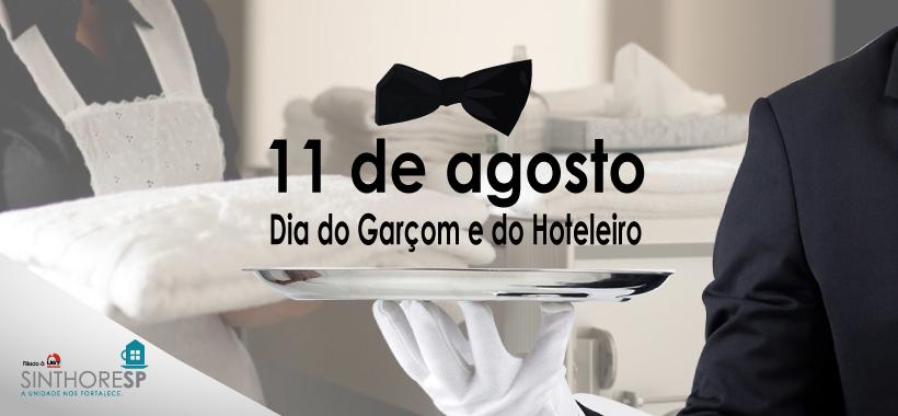 Feliz Dia do Garçom e do Trabalhador Hoteleiro