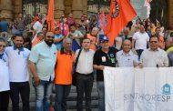Sinthoresp une-se a Metalúrgicos e Centrais em manifestação contra Reformas Trabalhistas