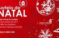 Sorteios para Natal nas Colônias de Férias!