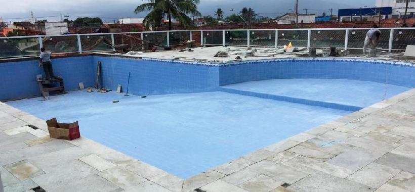 Nova piscina em Praia Grande será inaugurada em breve