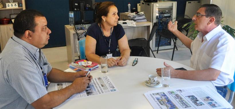 Sinthoresp e secretária do Trabalho de Guarulhos debatem parcerias