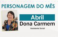 Conheça a história de Dona Carmem, ela é Assistente Social do Sinthoresp