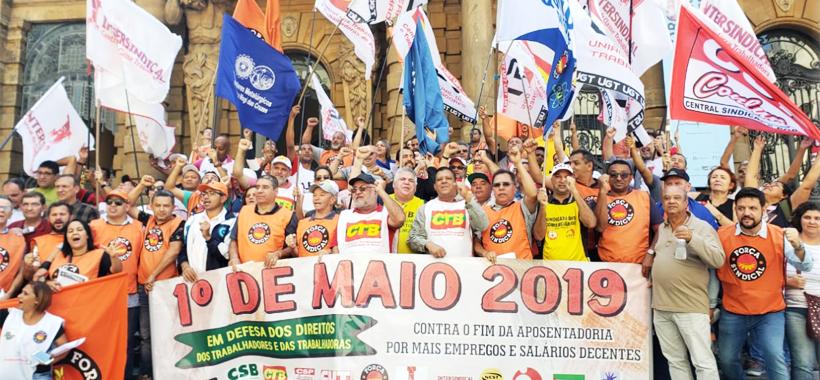 1º de Maio unificado será na Praça da República