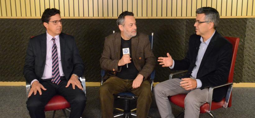 Diretor Rubens e Marcelo Nóbrega, da Arcos Dourados, valorizam profissionais de RH