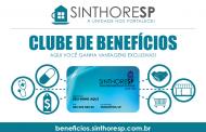 Com o Clube de Benefícios Sinthoresp você ganha vantagens exclusivas! Conheça.