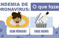 OMS declara pandemia de Coronavírus. Saiba o que fazer.