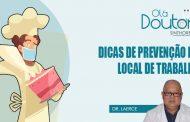 Coronavírus: Dicas para prevenção no local de trabalho