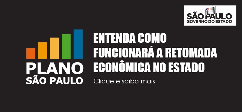 Governador João Doria anuncia retomada da econômia no Estado. Entenda!