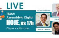 Assembleia Online é tema da primeira Live do Sinthoresp nas redes sociais! Assista!