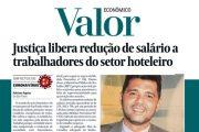NA MÍDIA - Justiça libera redução de salário a trabalhadores do setor hoteleiro