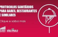 Confira os protocolos sanitários para Bares e Restaurantes divulgados pelo governo de SP