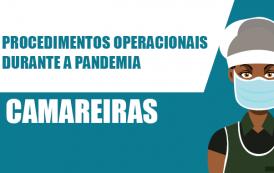 Veja quais são os procedimentos seguros para camareiras durante a pandemia