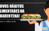 Pesquisa aponta novos hábitos de consumo de alimentos durante a quarentena