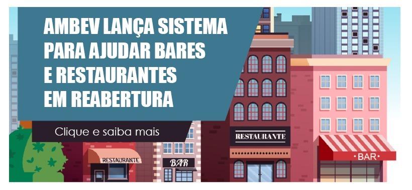 Nova plataforma da Ambev promete ajudar bares e restaurantes em reabertura