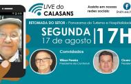 Live do Calasans homenageou garçons e advogados
