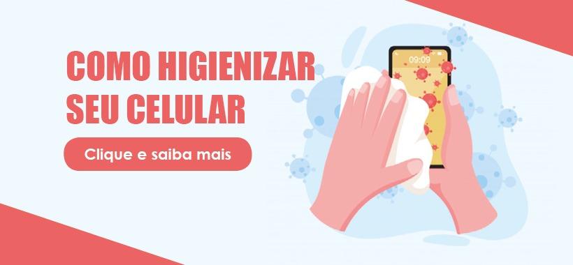 Coronavírus: Saiba como higienizar seu celular corretamente para evitar contaminação