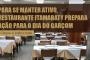 Após anunciar falência Restaurante faz ação para o dia 11 de agosto