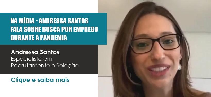 Sinthoresp na Mídia: Andressa Santos fala sobre busca por emprego durante a pandemia