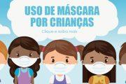 OMS divulga novas recomendações sobre o uso de máscara por crianças
