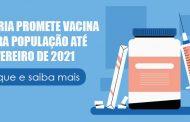 João Doria garante vacina para toda a população de São Paulo até fevereiro