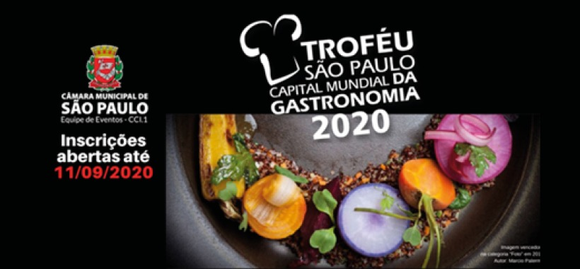 Troféu premiará divulgação sobre a culinária da cidade de São Paulo. Entenda.